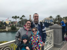 Trip to North Carolina & Universal Studios: Dec 28, 2017-Jan 6, 2018