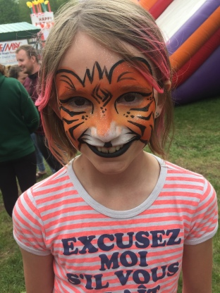 Abby the tiger!!!