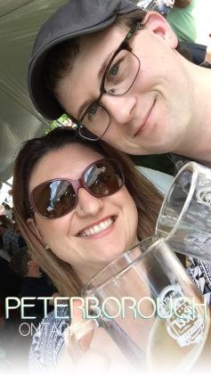 Melissa & Shawn selfie.
