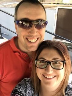 Peter & Melissa selfie on the Liftlock Cruise