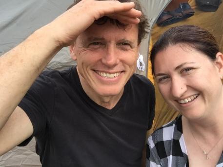 Steven and Melissa selfie