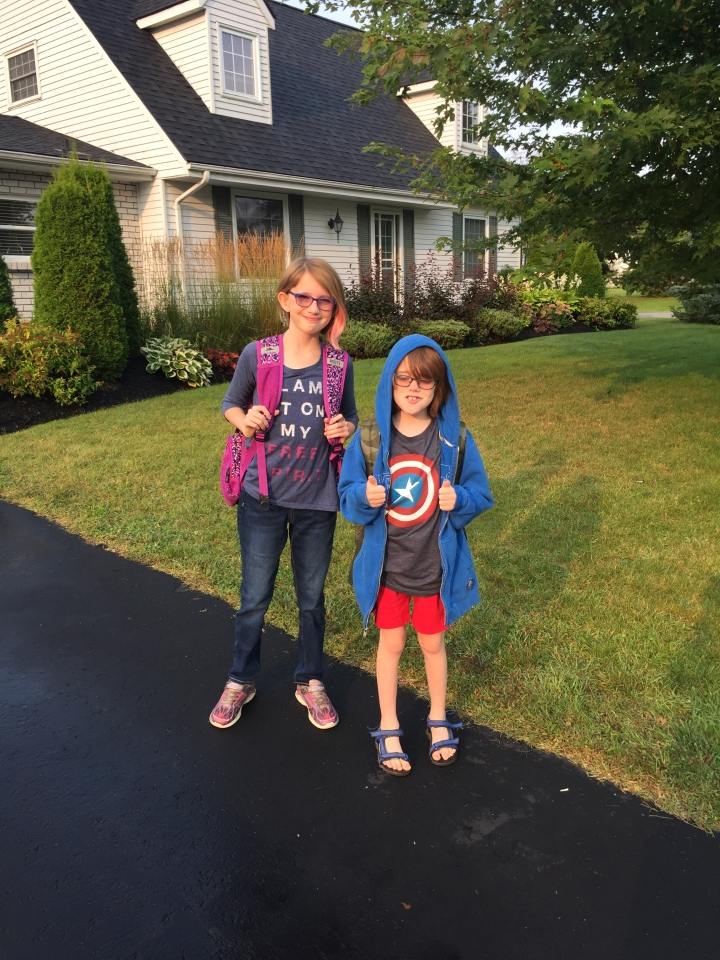 First Day of School Sept 2017: Gr. 4 & Gr. 6