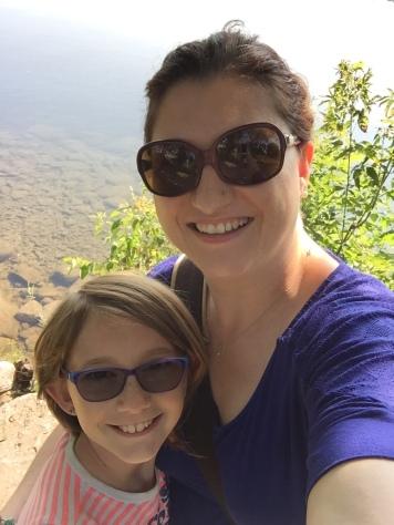 Mom & Abby selfie